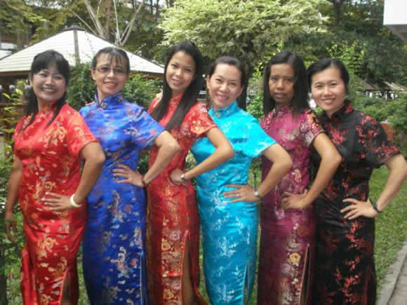 Saithammachan school的美女老师们