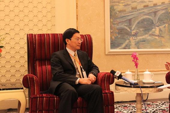 国家汉办副主任胡志平接受中国网采访